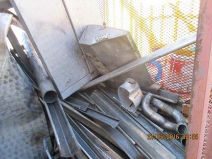 Picture of MONTHLY AUCTION - March 2021 - Ferrous and Non Ferrous - Used Discarded Stainless Steel
