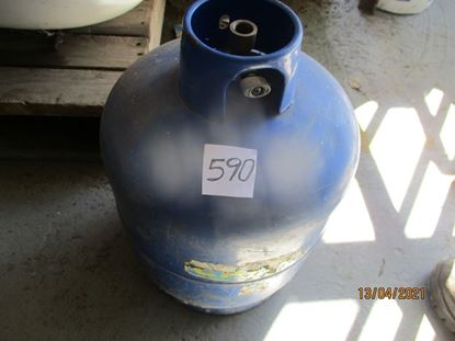 Picture of April 2021 - Used Discarded Empty Gas Cylinder Item No 590