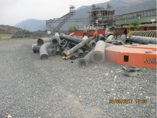 Picture of MONTHLY AUCTION – June 2021 – Ferrous and Non Ferrous – Used Discarded Scrap Black HDPE Pipes